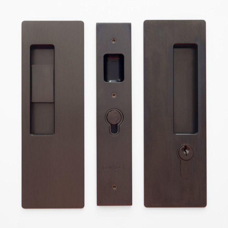 Cavilock Cl400c Ke 38 Rh Pocket Door Pulls Pocket Door Lock Pocket Doors