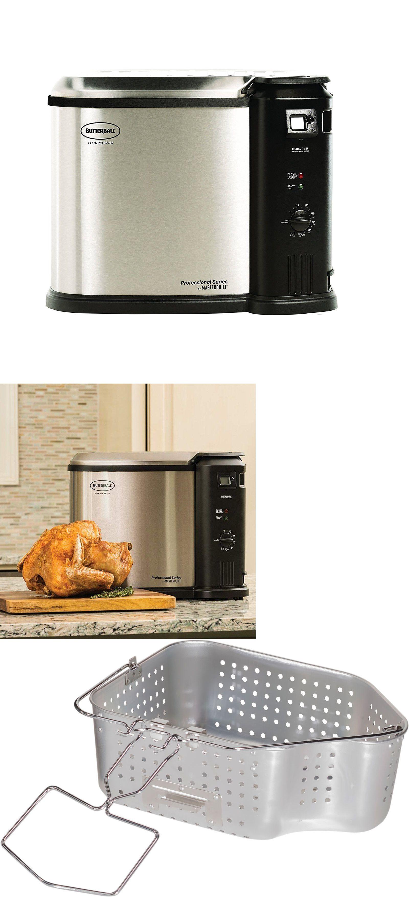 Fryers 185033 Masterbuilt Butterball Xl 1650w Electric 20 Lb