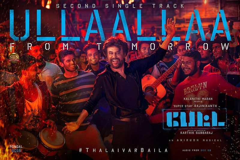 Rajinikanth Petta Movie Ullaallaa Lyric Video