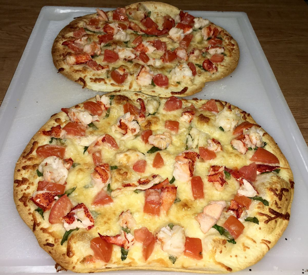 Copycat Red Lobster Pizza Lobster pizza, Red lobster