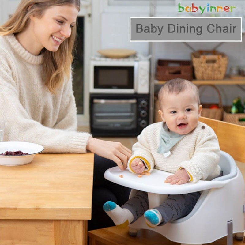 Babyinner Baby Dining Chair Simple Detachable Booster Seats Plastic Dining Tables Multifunctional Baby Feeding C Simple Dining Chairs Booster Seat Baby Feeding
