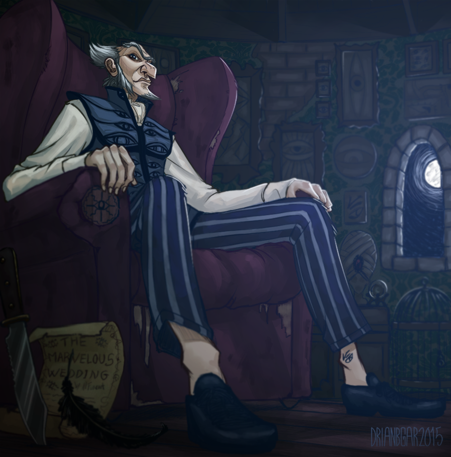 Count Olaf by on DeviantArt