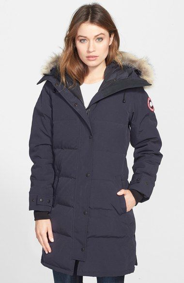 canada goose jacket fur material