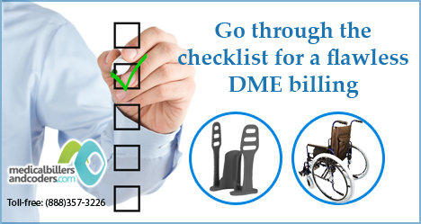 A handy checklist for a successful billing will help reduce