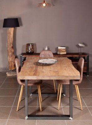 Tavolo in legno grezzo di larice antico GREG | Arredamento ...
