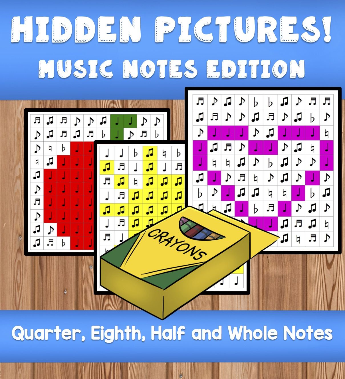 6 Hidden Pictures Answer Keys Included Use These