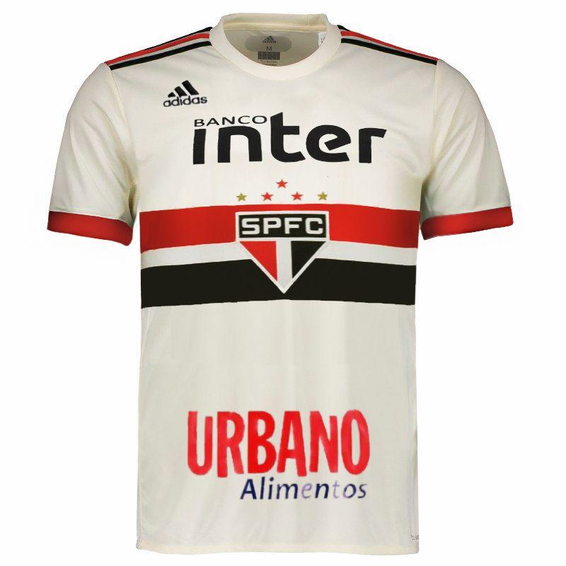 Camisa do São Paulo 2018 adidas  c581635411e34