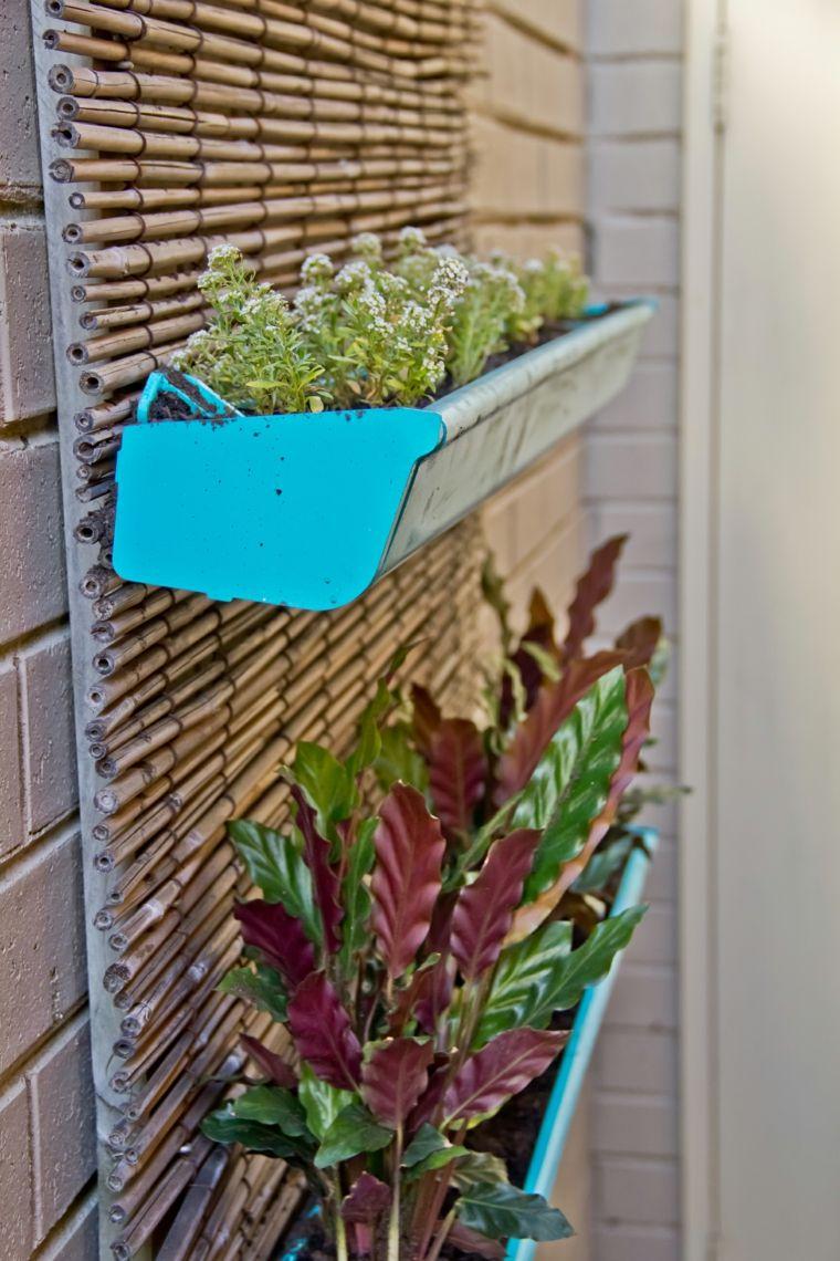 jardineras verticales ideas sencillas para colgar