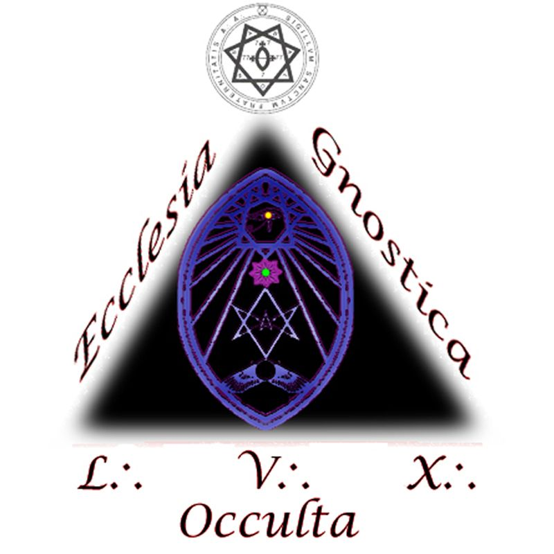 """Ecclesia Gnostica Occulta you will notice a great deal of symbolism including the pyramid or triangle, the Egyptian sun winged disk, a bright All-seeing eye on top of the flower, a Six pointed star and many others. These symbols are commonly used today by """"Christian"""" religions like SDA's, Mormons, Jehovah Witness, Catholics, Presbyterians, etc…"""