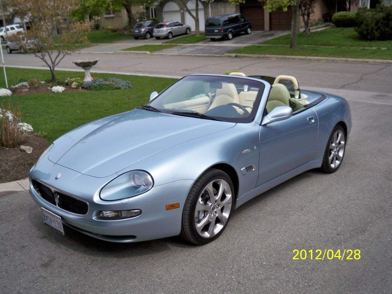 Maserati Spyder CC (200-2005)