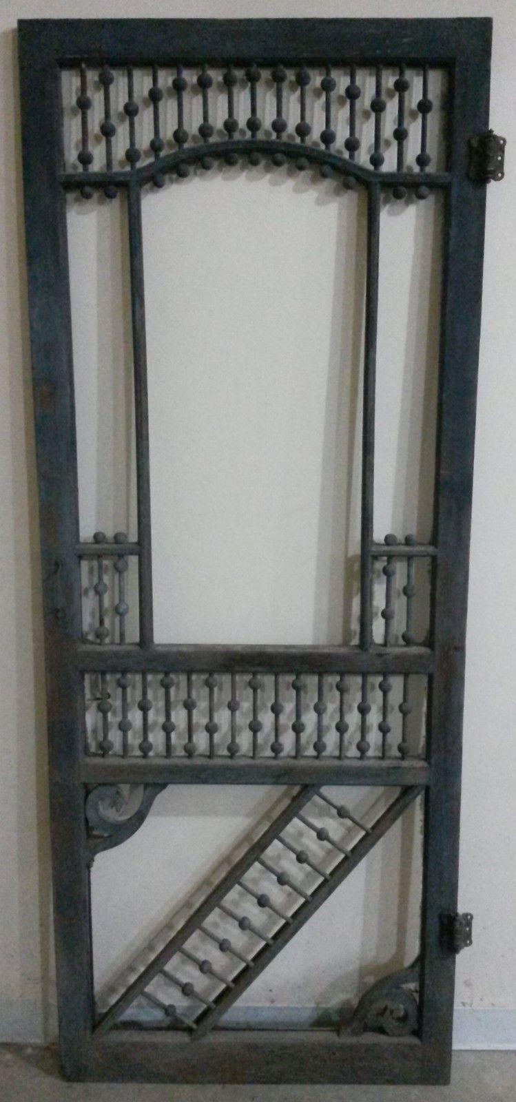 """Photo of """"THE BEST""""  Victorian Screen Door  Hinges & Original Condition. Nicest Victorian"""