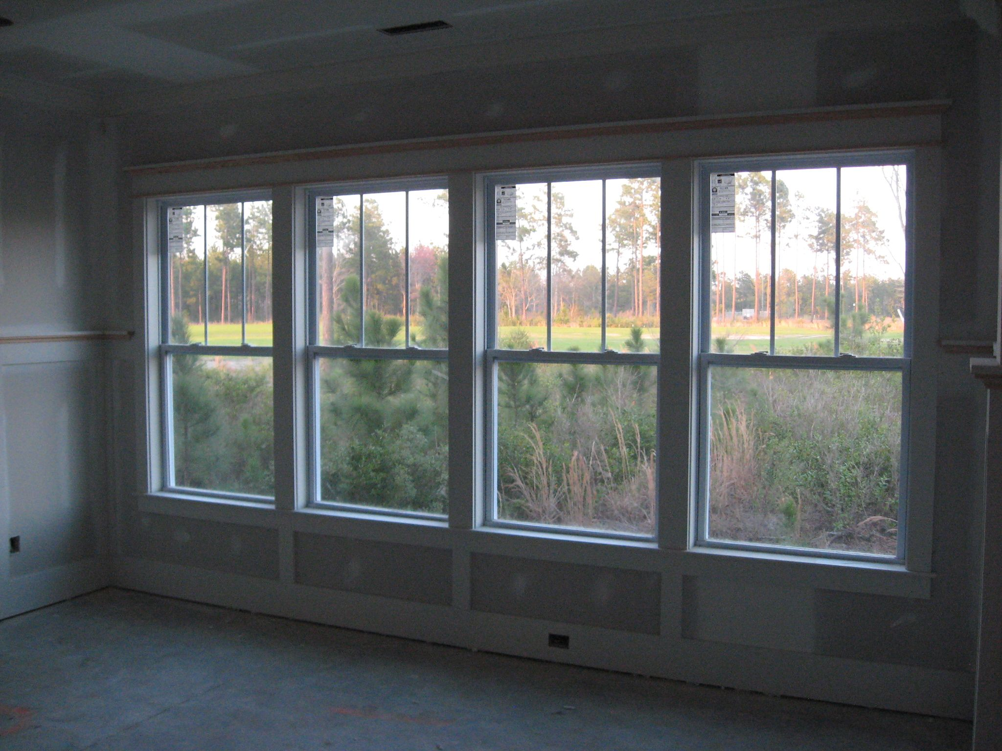 Dining Room Windows 4 Ranch House Exterior House Exterior House Windows