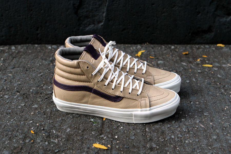 e16061b4677 VANS VAULT OG Sk8 Hi - Tan   Purple