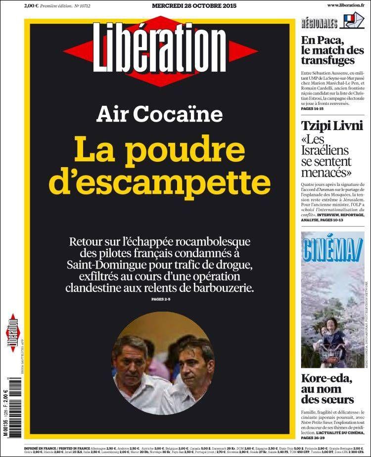 Libération - Mercredi 28 Octobre 2015 - N° 10712
