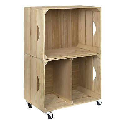 meuble bois 50 cm