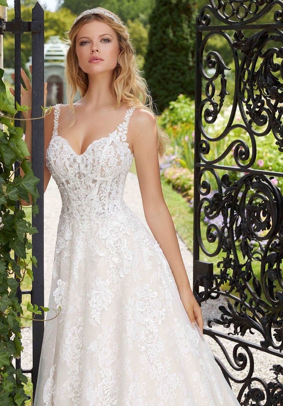 Mori Lee 2029 Patricia Sweetheart Neckline Bridal Dress Wedding