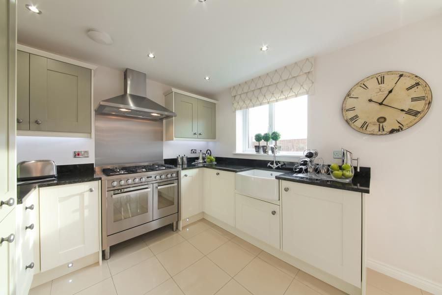 Taylor Wimpey: Downham - layout of the kitchen. | Kitchen/Dining ...