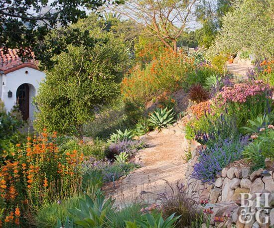 Photo of Garden Paths On A Slope