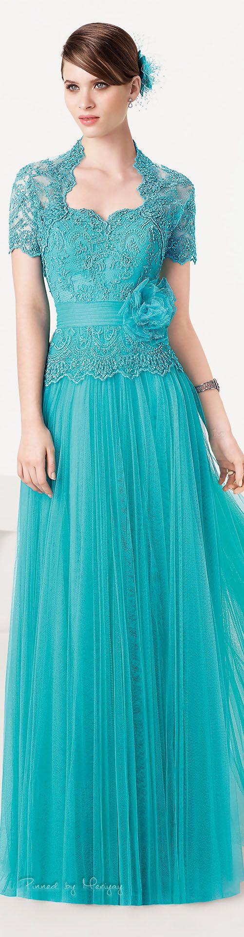 AZUL....❤   vestidos   Pinterest   Aire barcelona 2015, Aire ...