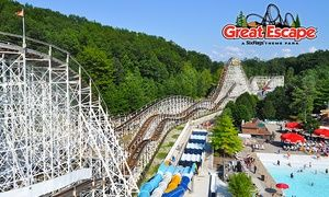Single Day Admission To Six Flags The Great Escape 32 Off The Great Escape Escape Admissions