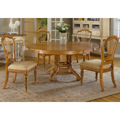 7Piece Round Dining Set Hillsdale Wilshire Collection  Home Inspiration 7 Piece Round Dining Room Set 2018