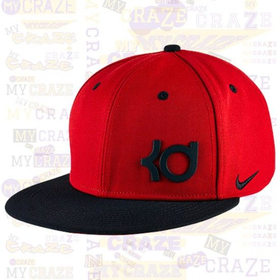 KD Cap Nike Kevin Durant Kd Nba True Red Black Swoosh Hat Basketball Cap | Hats  for men, Strapback hats, Black and red