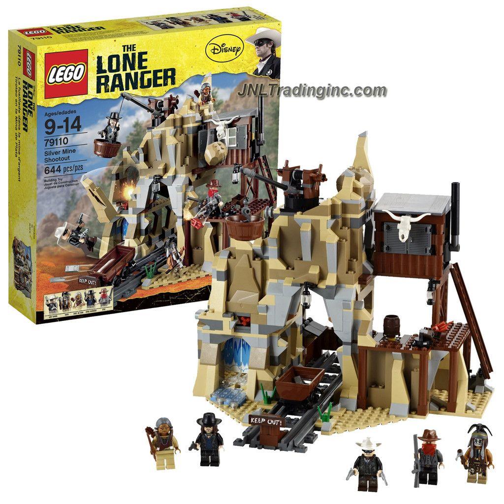 Dusty Lone Ranger minifigure from set 79110 New Lego Lone Ranger
