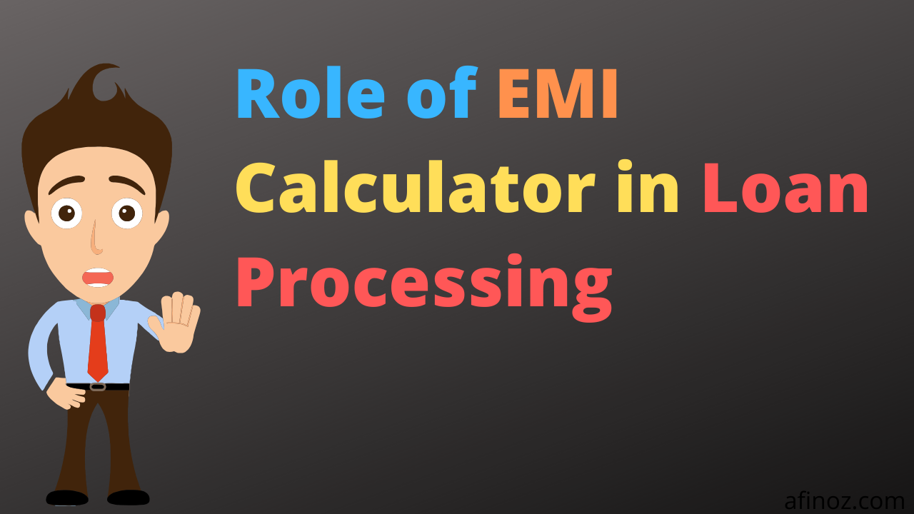Role Of Emi Calculator In Loan Processing Personal Loans Savings And Investment Good Credit