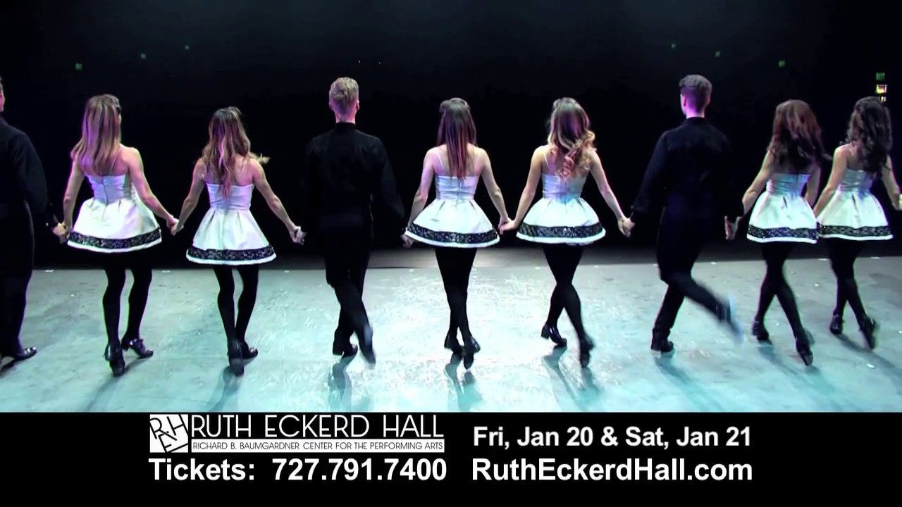 Don't miss Riverdance at Ruth Eckerd Hall Jan 20 & Jan 21, 2017!