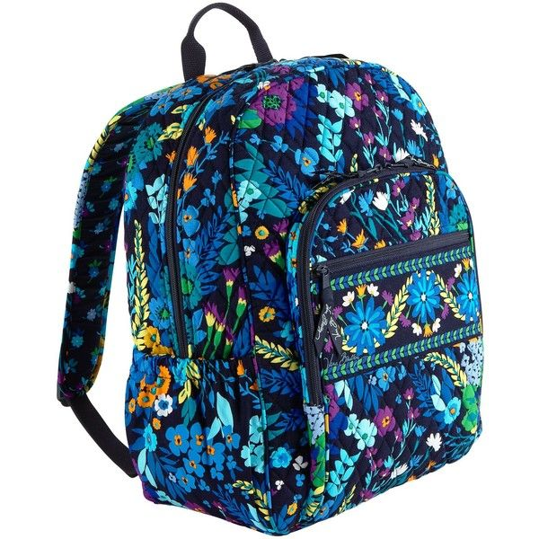 Vera Bradley Campus Backpack ( 109) ❤ liked on Polyvore   my ... 5346db32a7