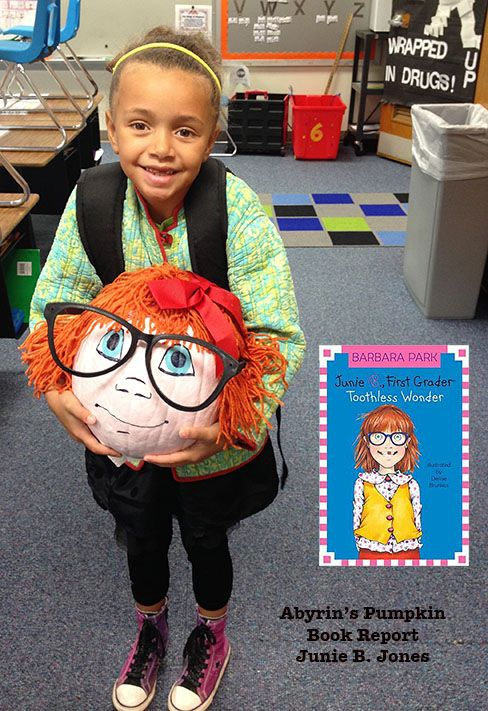 Junie B. Jones Pumpkin Book Report | season ~ autumn | Pinterest ...