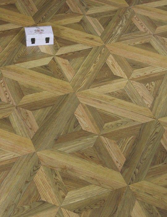 Stuart Oak Parquet Laminate Floor