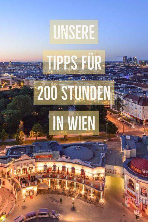 Es gibt Städte, an denen du dich schon nach ein paar Stunden oder wenigstens Tagen satt gesehen hast. Die österreichische Metropole gehört definitiv nicht dazu. Ein Urlaub in Wien braucht Zeit. Am besten sehr viel Zeit.