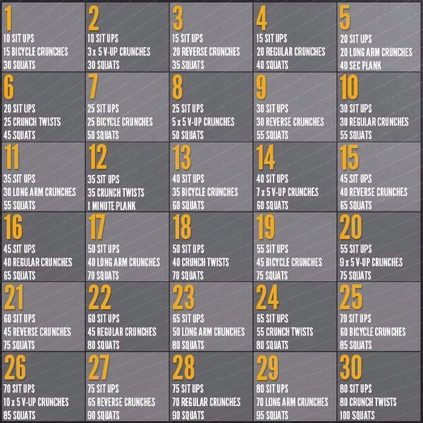 Best 25+ 30 day workouts ideas on Pinterest | 30 day ...