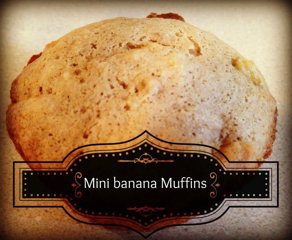 Banana Mini Muffin Recipe