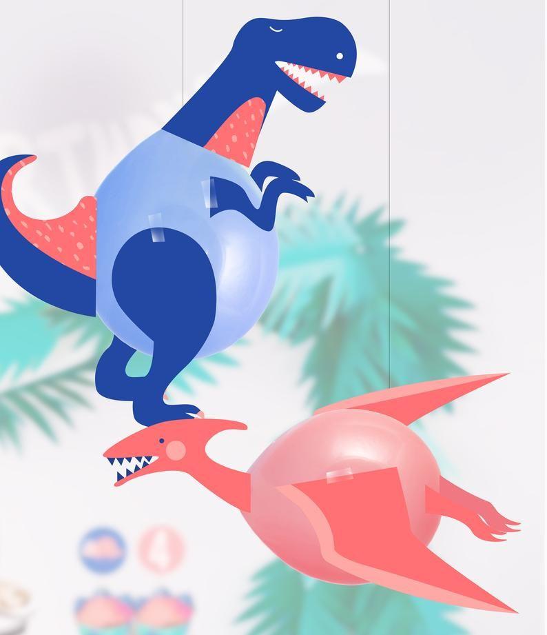 Photo of PRINTABLE – Dinosaur Balloons   Dinosaur Party Decorations   Dinosaur party Printables