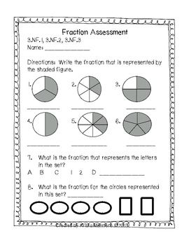 image relating to 3rd Grade Assessment Test Printable known as Well known Main Portion Evaluation 3rd Quality Fundamental Math