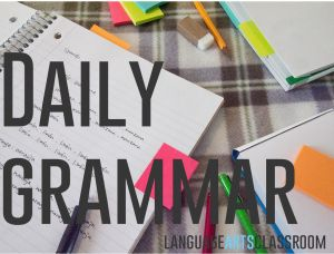 Looking for simple, easy to adapt ways to incorporate grammar into lesson plans? Personalize these tips and activities to make grammar more attainable for your students.