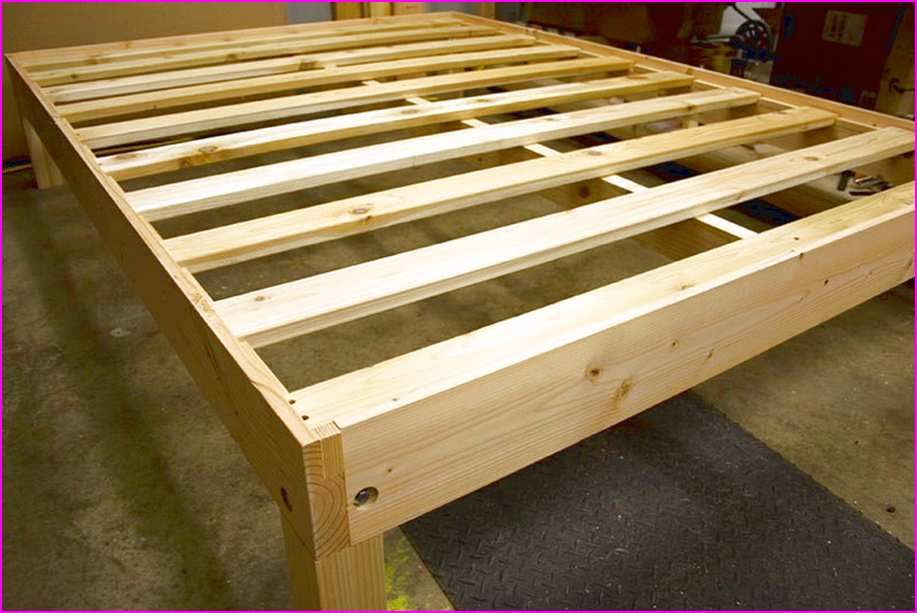 full size bed frame with storage plans home design ideas diy projects pinterest. Black Bedroom Furniture Sets. Home Design Ideas
