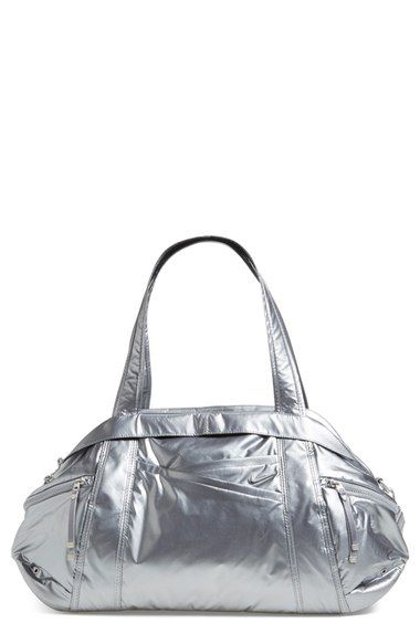 774402c3f52 Nike  Victory  Metallic Gym Duffel Bag available at  Nordstrom ...