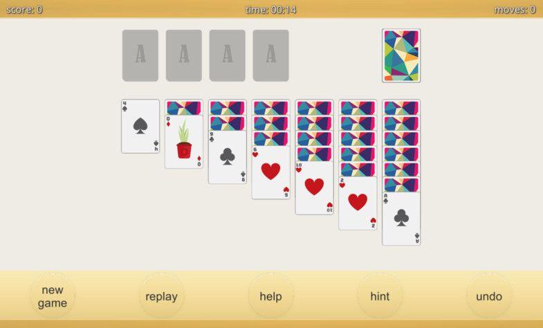 Klondike Solitaire Template Solitaire Klondike Template Packs Solitaire Card Game Solitaire Games Solitaire