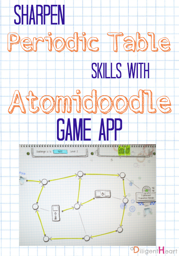 Sharpen periodic table skills with atomidoodle game app pinterest sharpen periodic table skills with atomidoodle game app i adiligentheart urtaz Image collections