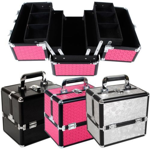 Vanity Case Cosmetic Beauty Make Up Box Nail Jewelry Saloon Large Storage Gift Make Up Cases Bags Make Up Makeup Box Makeup Vanity Storage Makeup Case