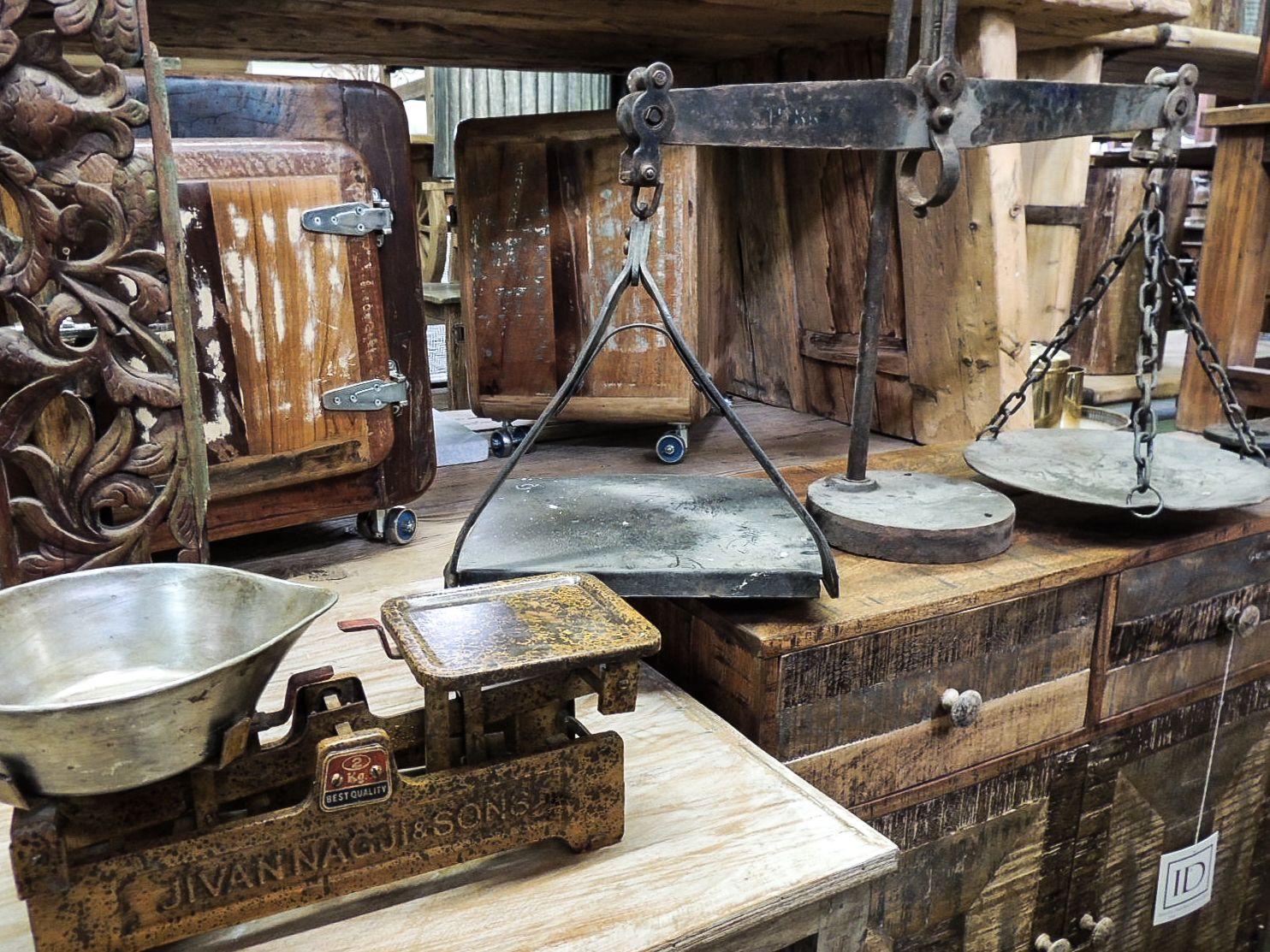 Beautiful rustic iron scales #iron #metal #scales #weigh #lock #box ...