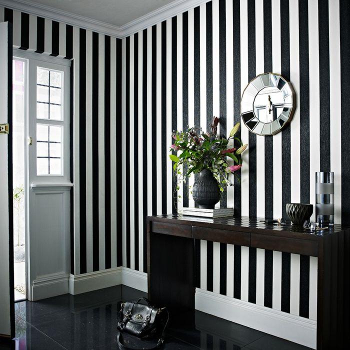 Taupe Farbe Dekorative Ideen Für Ihr Zuhause: 77 Farbenfrohe Wandmuster Für Die Kreative Wandgestaltung
