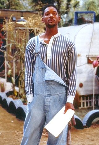 065a3ac252f Will Smith in overalls:Luving It❤ | Will Smith and Family in 2019 ...