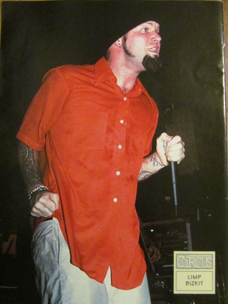 Lyric lyrics to rearranged by limp bizkit : Fred Durst, Limp Bizkit, Full Page Pinup | Metal and Hard Rock ...