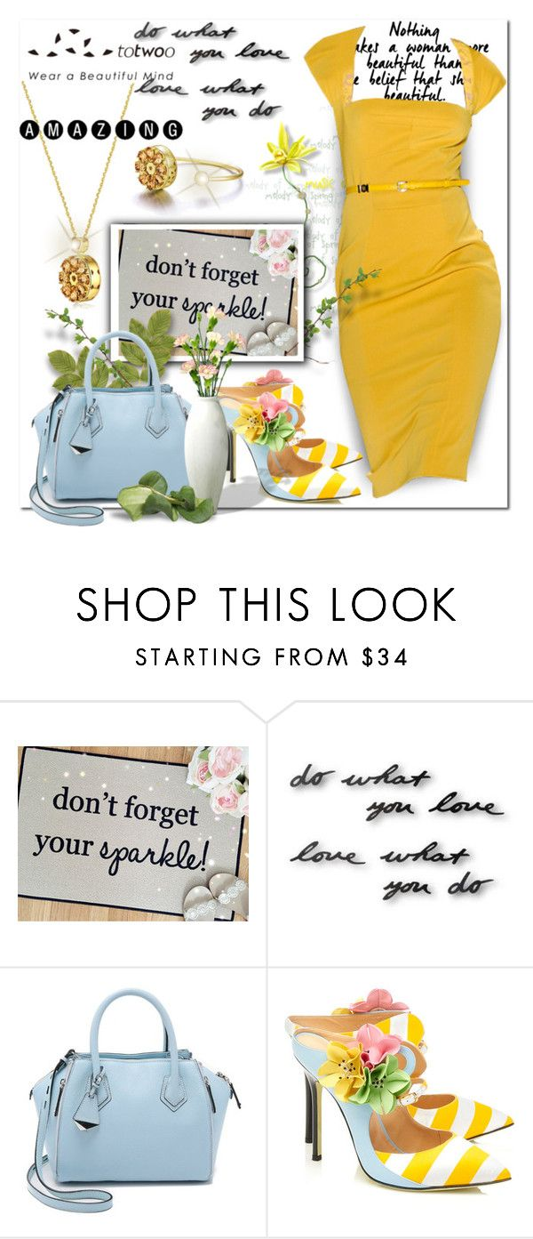 """""""Totwoo Jewelry"""" by wanda-india-acosta ❤ liked on Polyvore featuring Umbra, Rebecca Minkoff, Giannico and totwoo"""