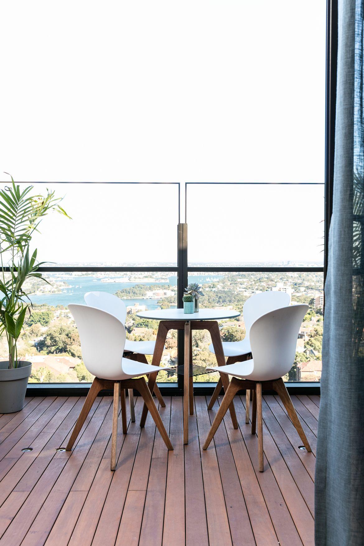 north sydney pentouse outdoor dining furniture steel pinterest