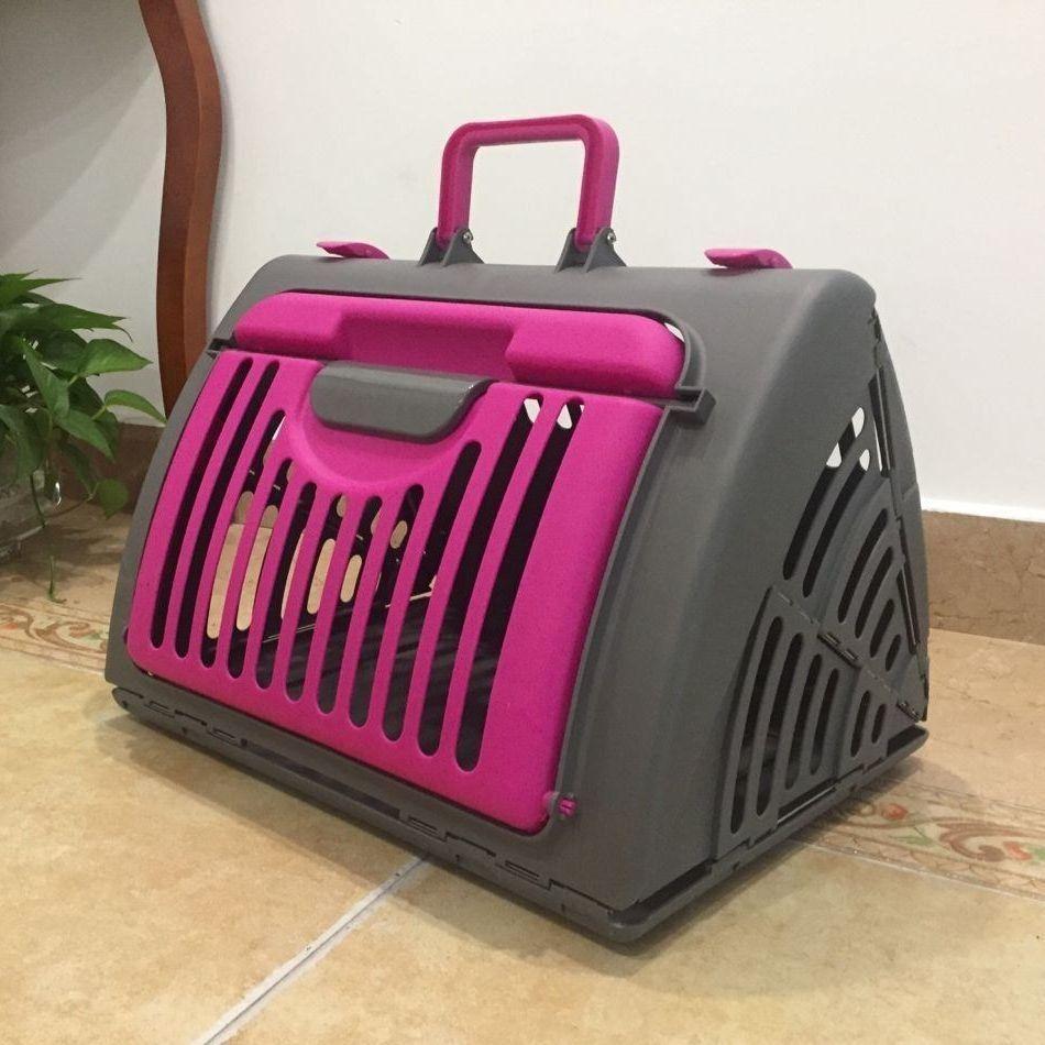 折り畳みキャリーケース ペット用 犬用 猫用 ハードキャリー キャリーバッグ ハードケース 折りたたみ 小型犬 コンパクト収納 移動 外出 お出かけ Pet 59107 おとりよせ Com 通販 Yahoo ショッピング ペット 小型犬 犬